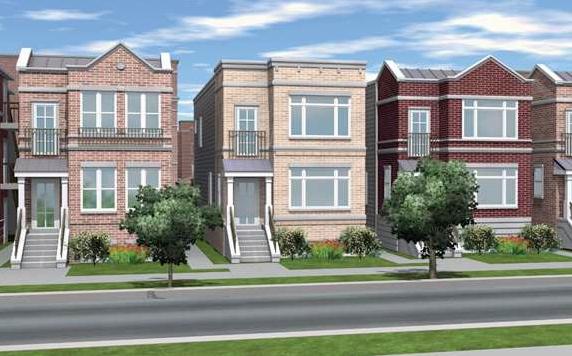 Park Boulevard's single-family homes