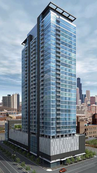 Rendering of Lexington Park Condominiums, 2138 S Indiana Ave, Chicago