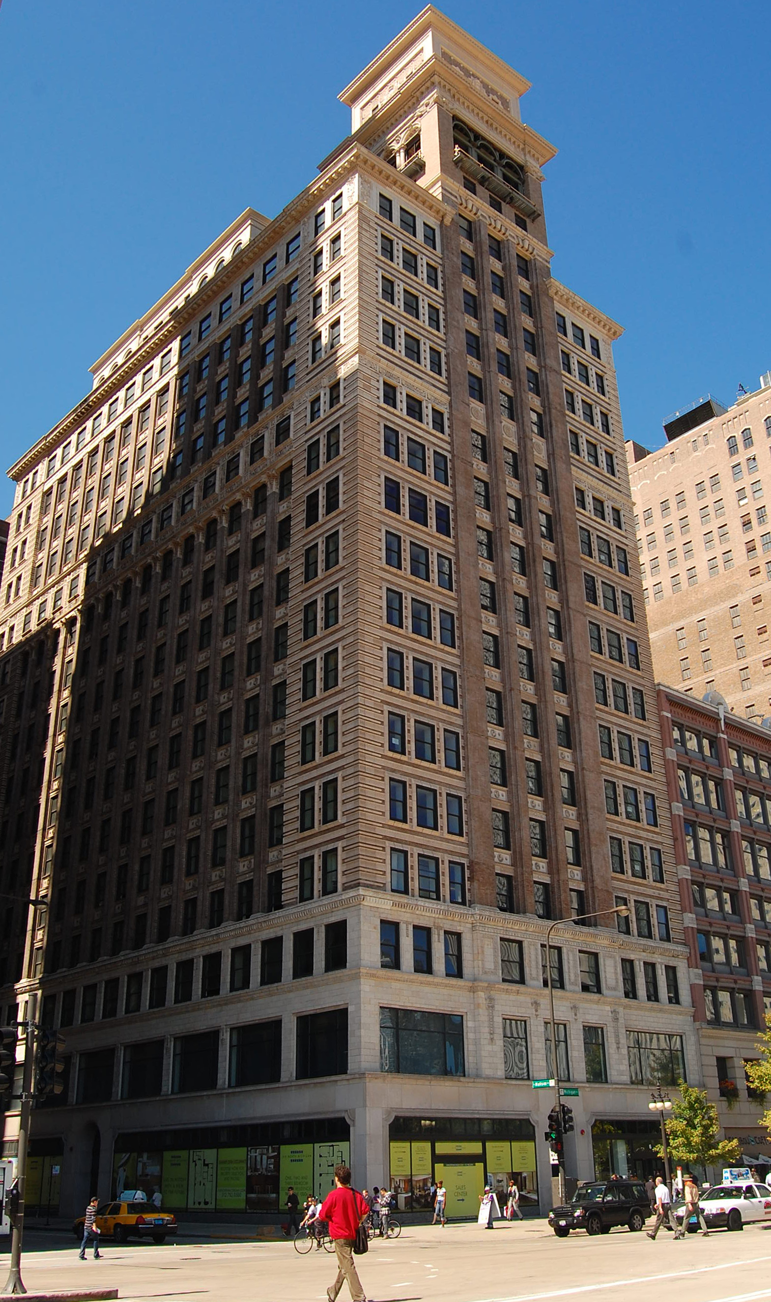 Amenities construction to wrap at Six North Michigan conversion by end of March