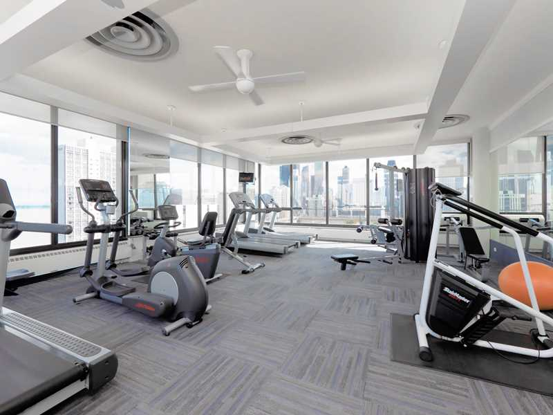 Fitness room, Astor House, Chicago