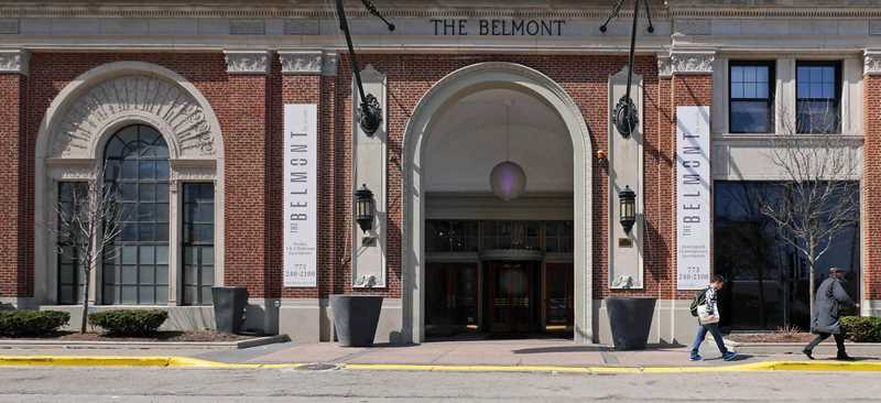 Belmont by Reside apartments, 3170 N Sheridan Rd, Lakeview East
