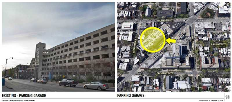 Down-sized plans for Children's Hospital site in Lincoln Park