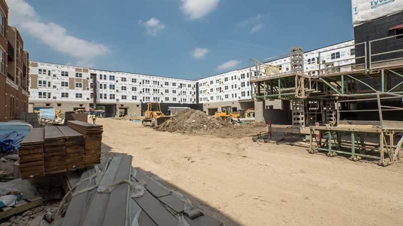 Midtown Square apartments in Glenview target Q4 occupancy