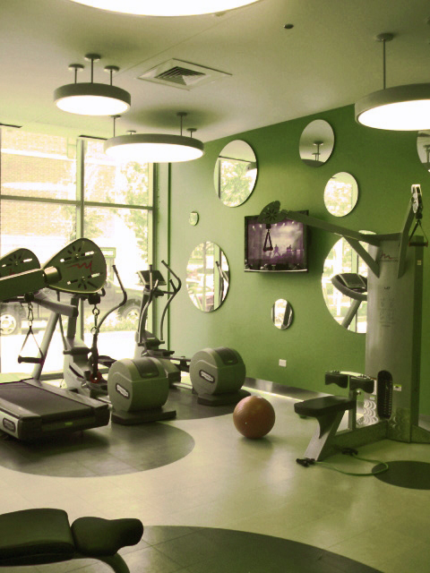 Emerald fitness room, 123 S Green St, Chicago