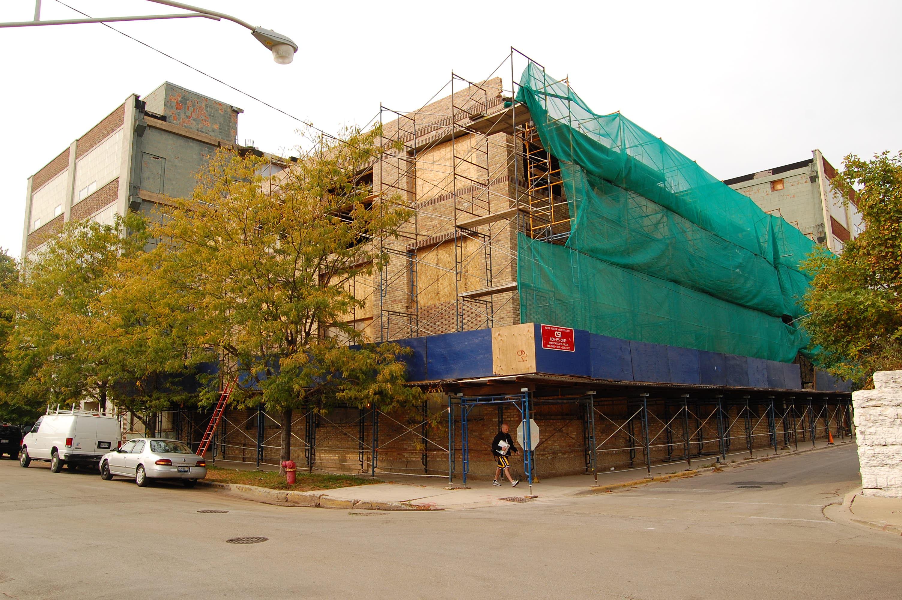 Construction checkup: Lofts at 1800