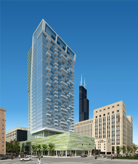 New high-rise proposed for West Loop