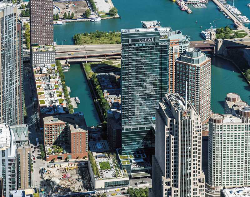 Tour a fabulous penthouse at Streeterville's North Water apartments