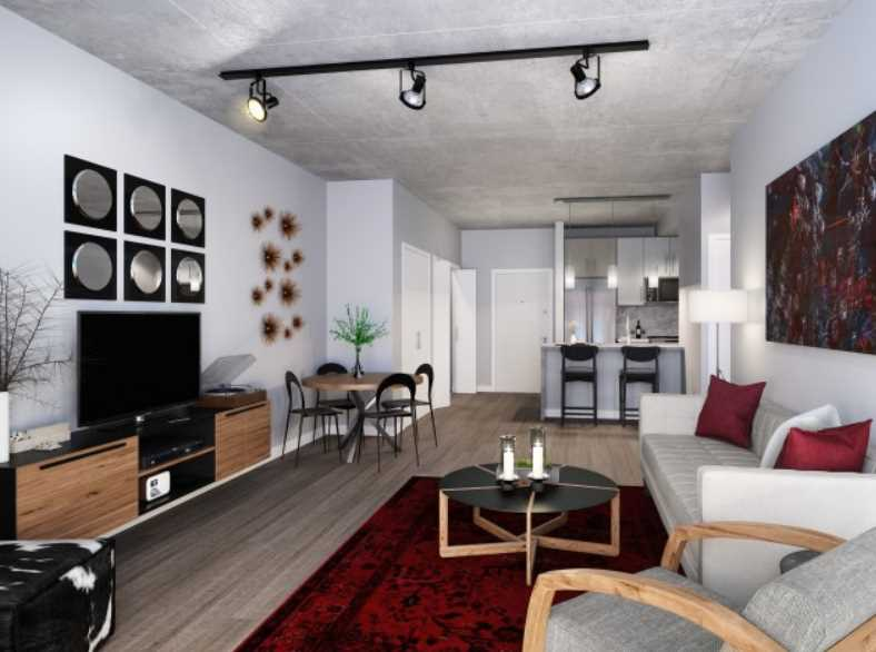 Sienna Flats apartment rendering, Chicago