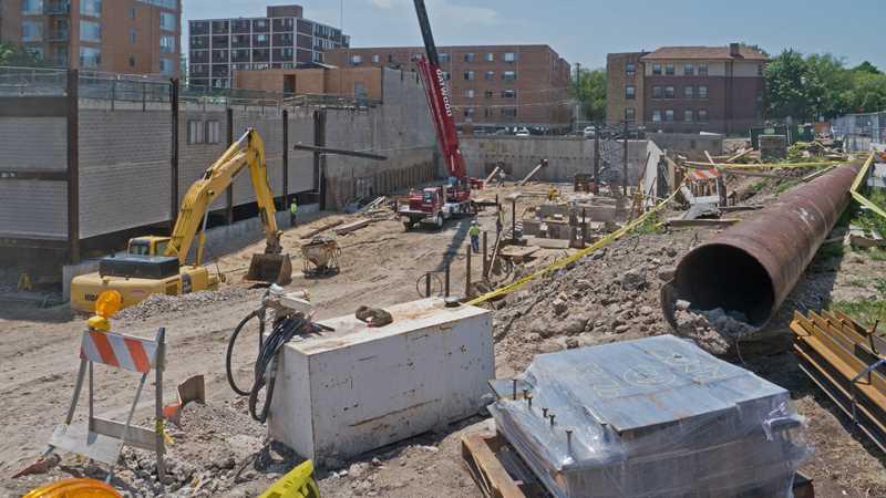 Construction check – Seventeen17 in Evanston