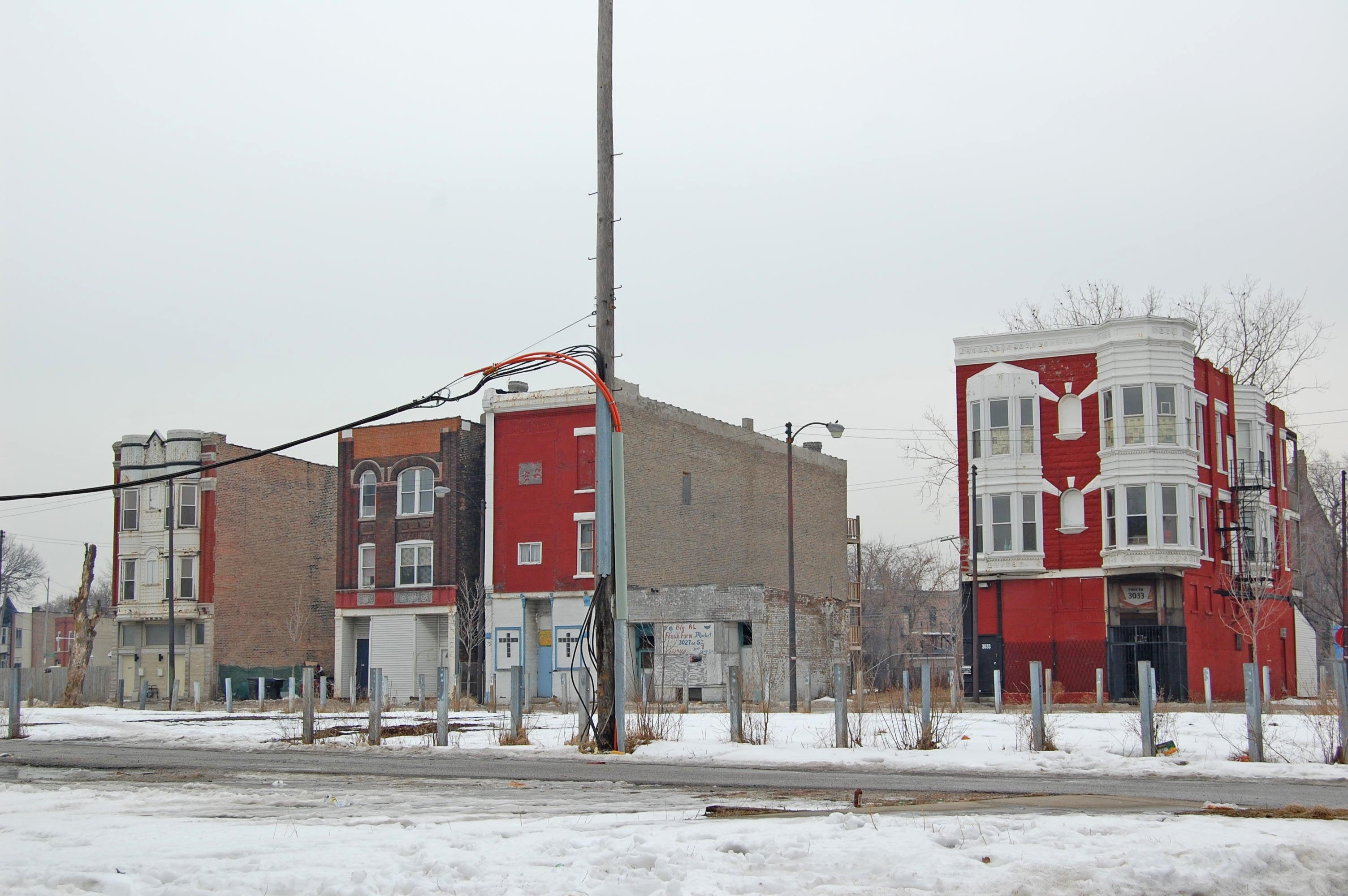 East Garfield Park, near Fifth Ave and Monroe St