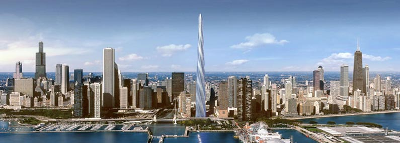 The Chicago Spire: 2005-2010?