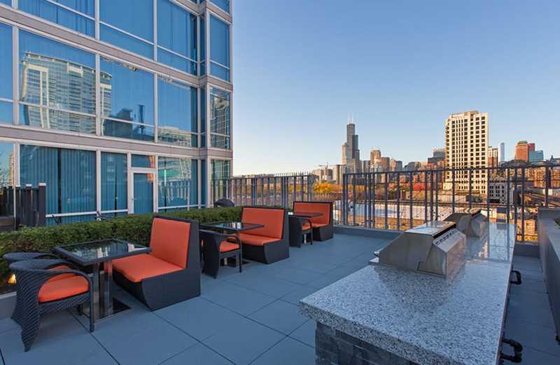 Sky garden,  1401 S State, Chicago