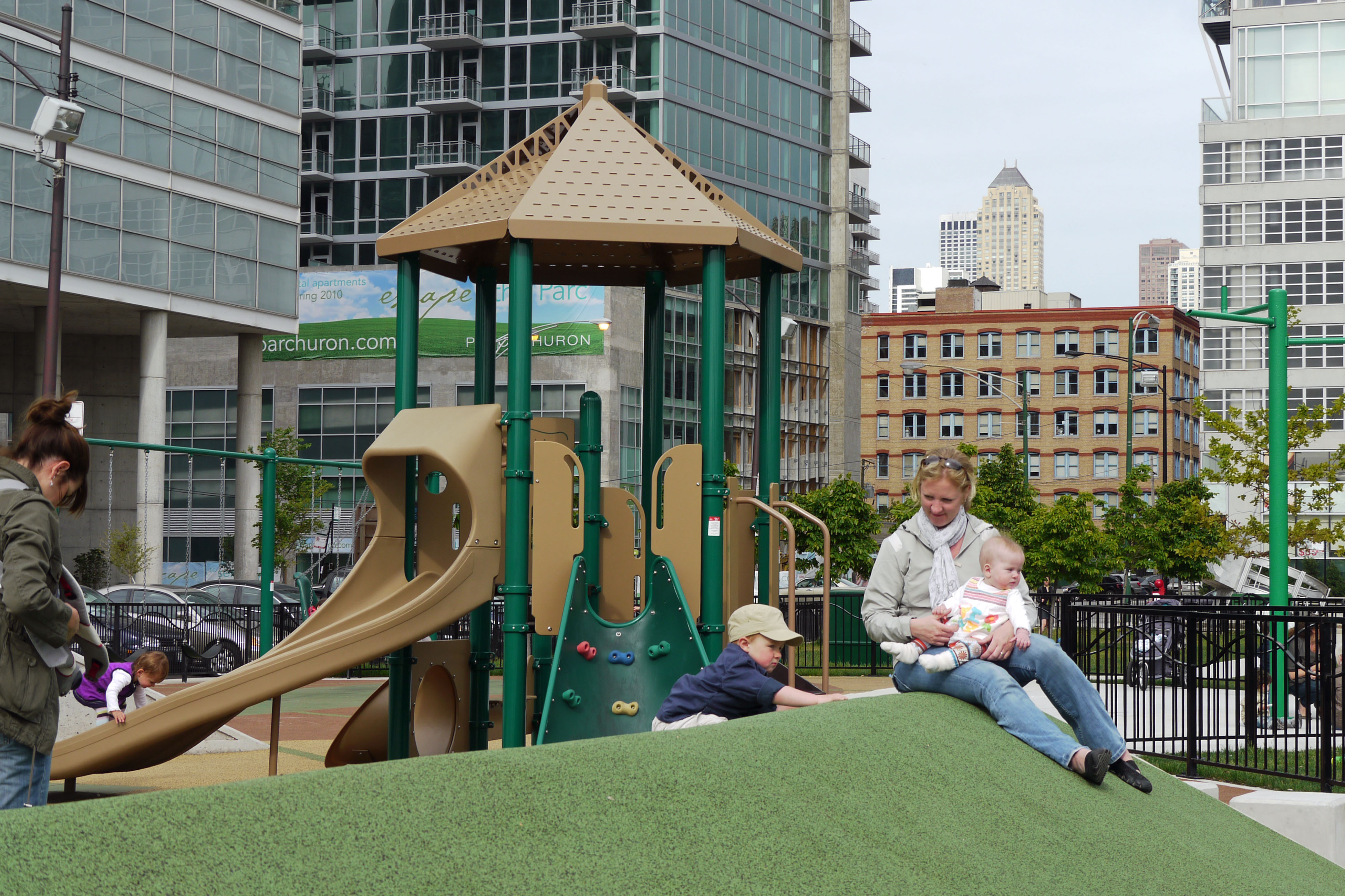 Erie Park's playground: River North's newest hot spot