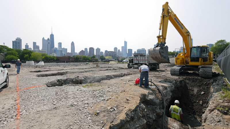 Construction underway at sold-out Basecamp River North