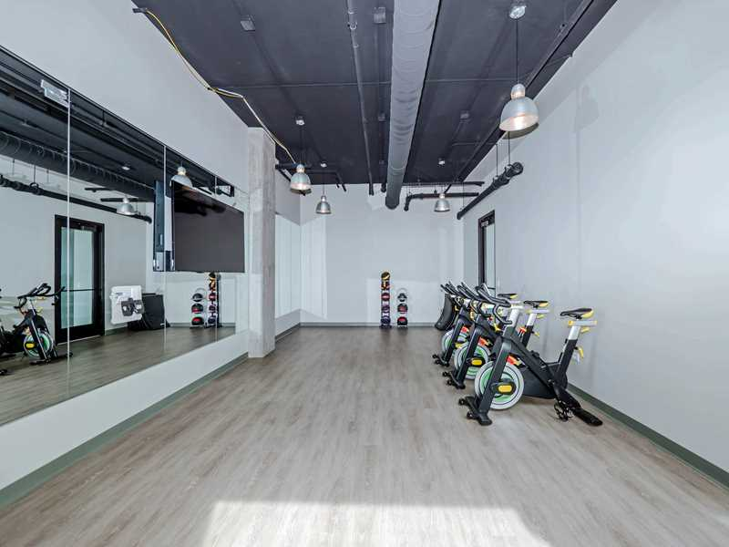 Reside on Green Street fitness, Chicago