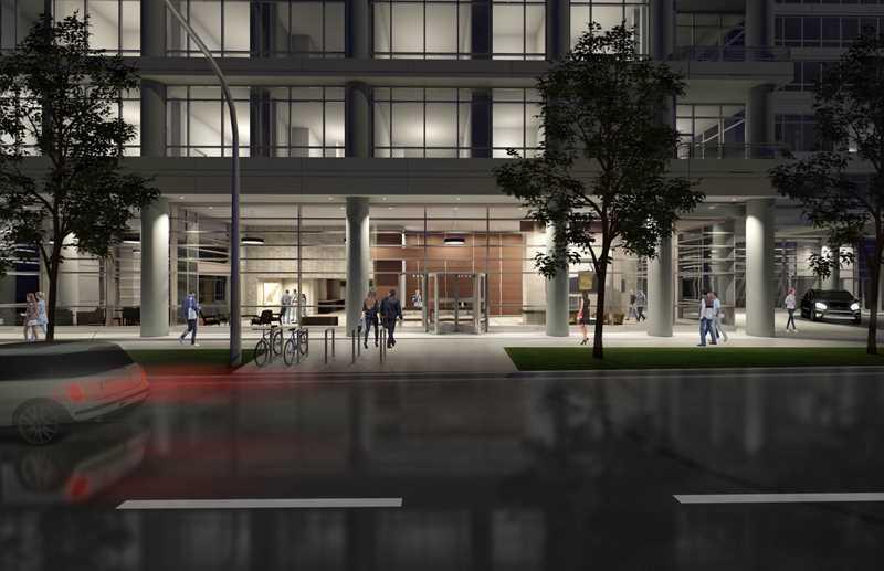 Street view rendering, Alta Roosevelt, Chicago