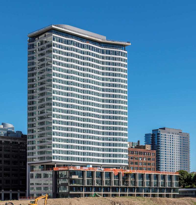 The Cooper Southbank has riverfront apartments in the hot South Loop