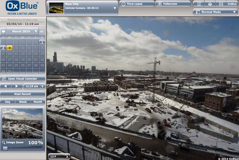 Watching the progress of River Point and New City