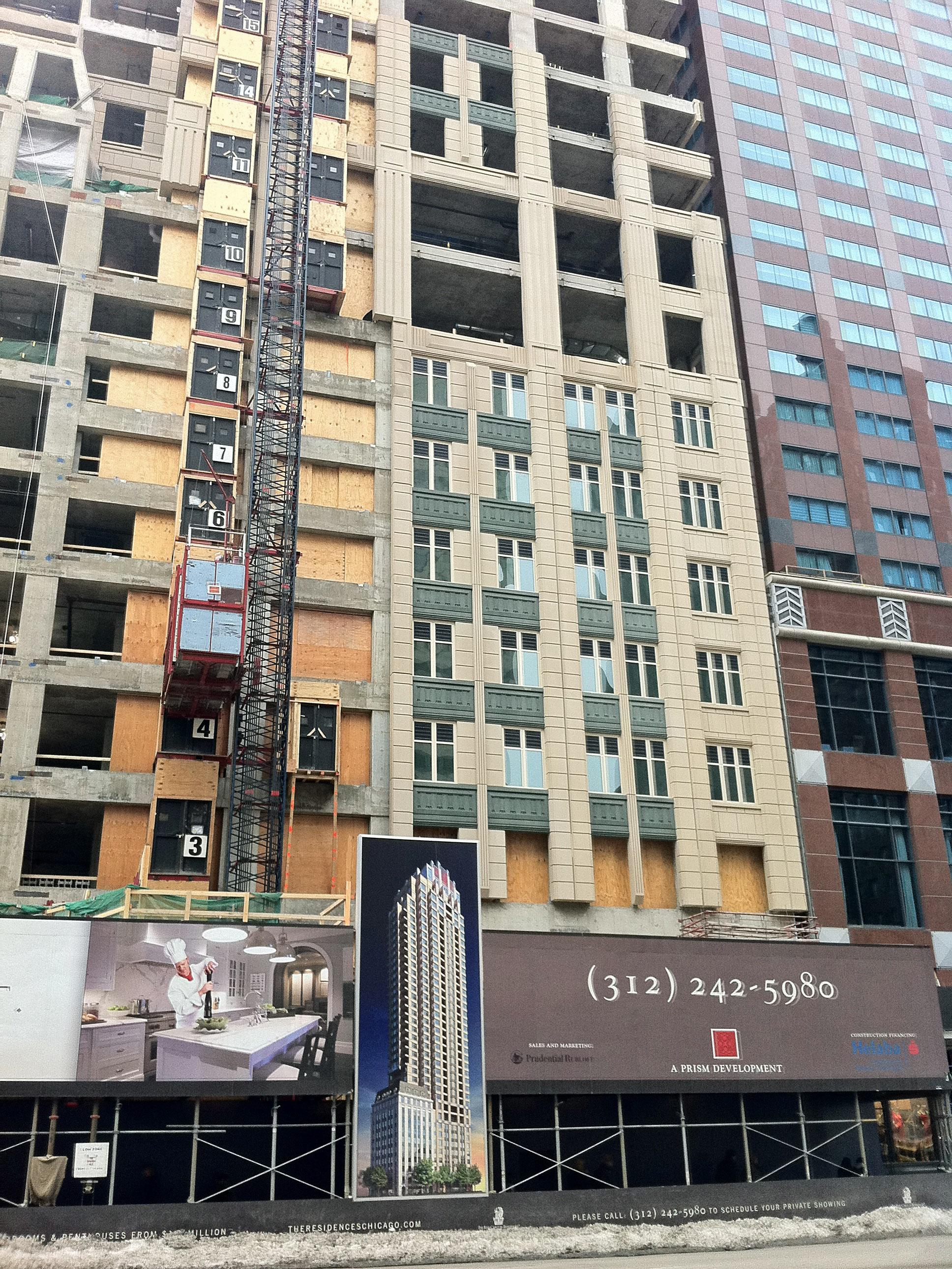 Ritz-Carlton Residences, 664 N Michigan Ave, Chicago