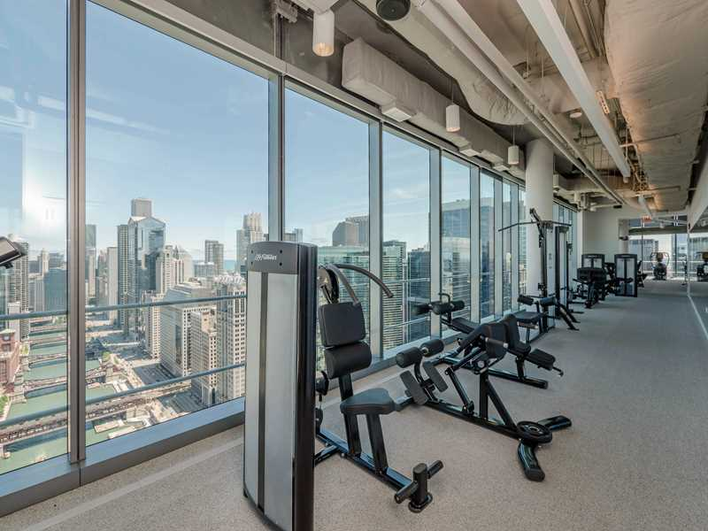 46th floor fitness, Wolf Point West, Chicago