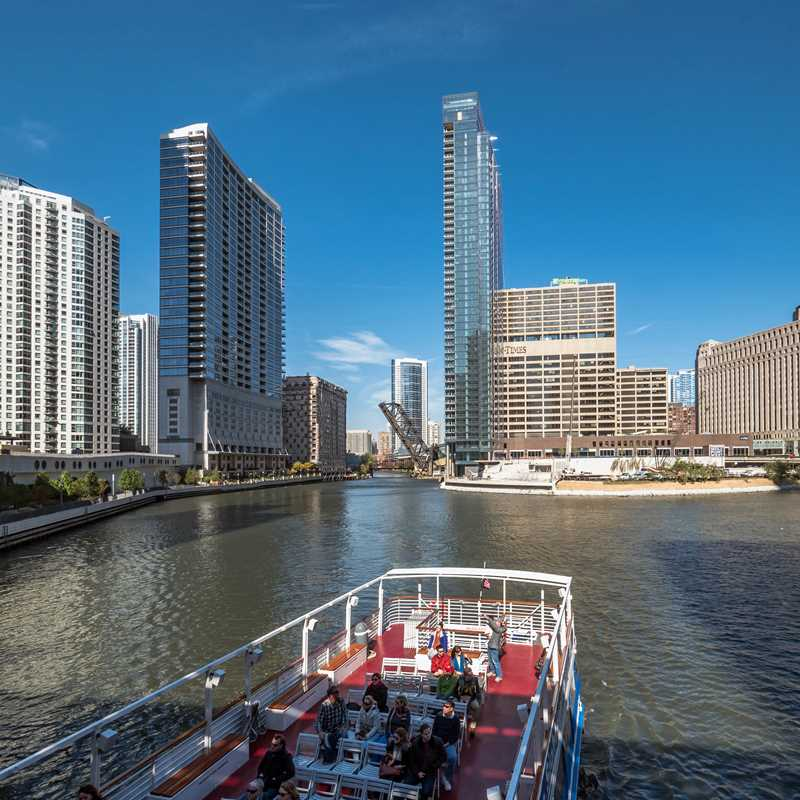 Experience riverfront living and views at Wolf Point West