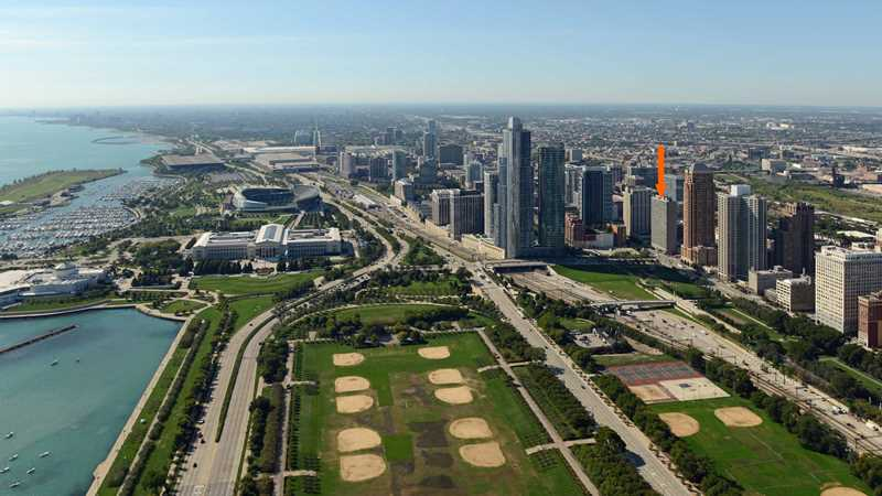 Park Michigan has a luxurious South Loop location