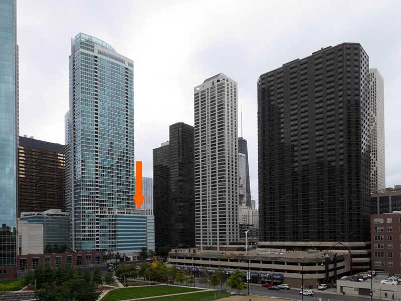 Rent a Streeterville one-bedroom with a private terrace