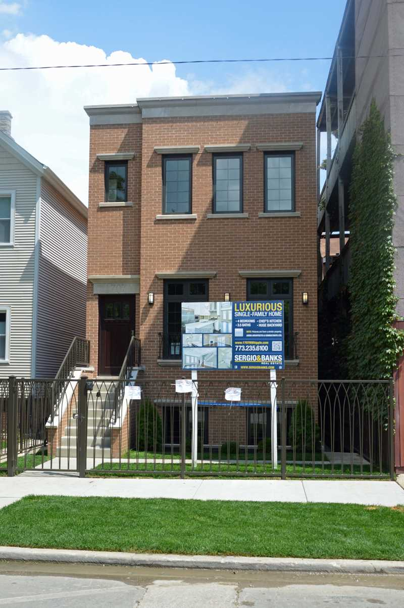 A hot pocket of new homes in Humboldt Park