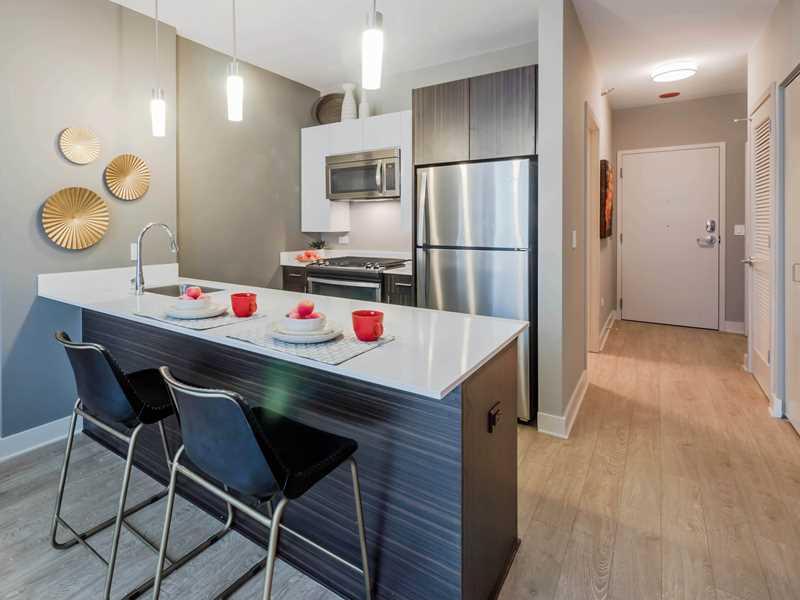 New uber-luxury Loop apartments near the Riverwalk