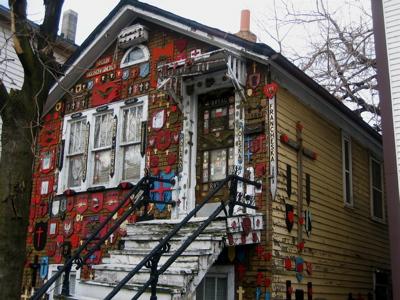 East Village house always in Christmas spirit – sort of
