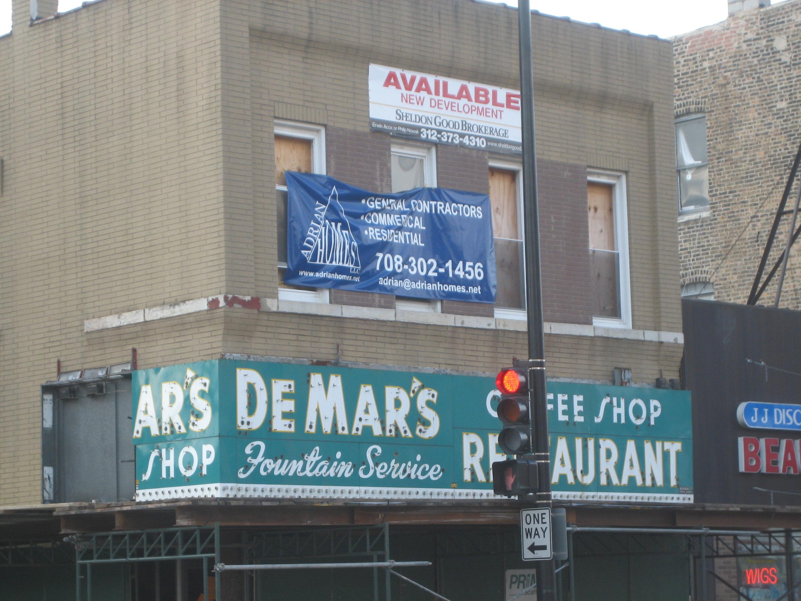 Condos replacing DeMar's Coffee Shop in East Village