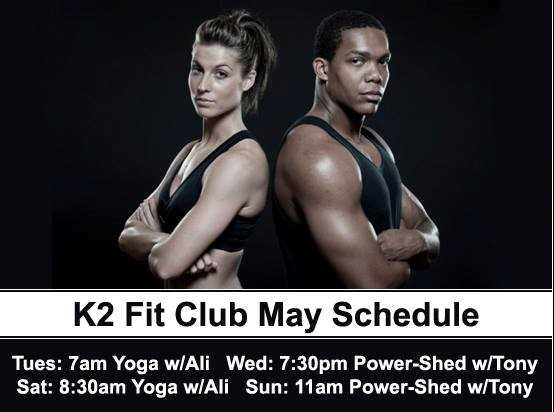 Fit Club events at K2 Apartments