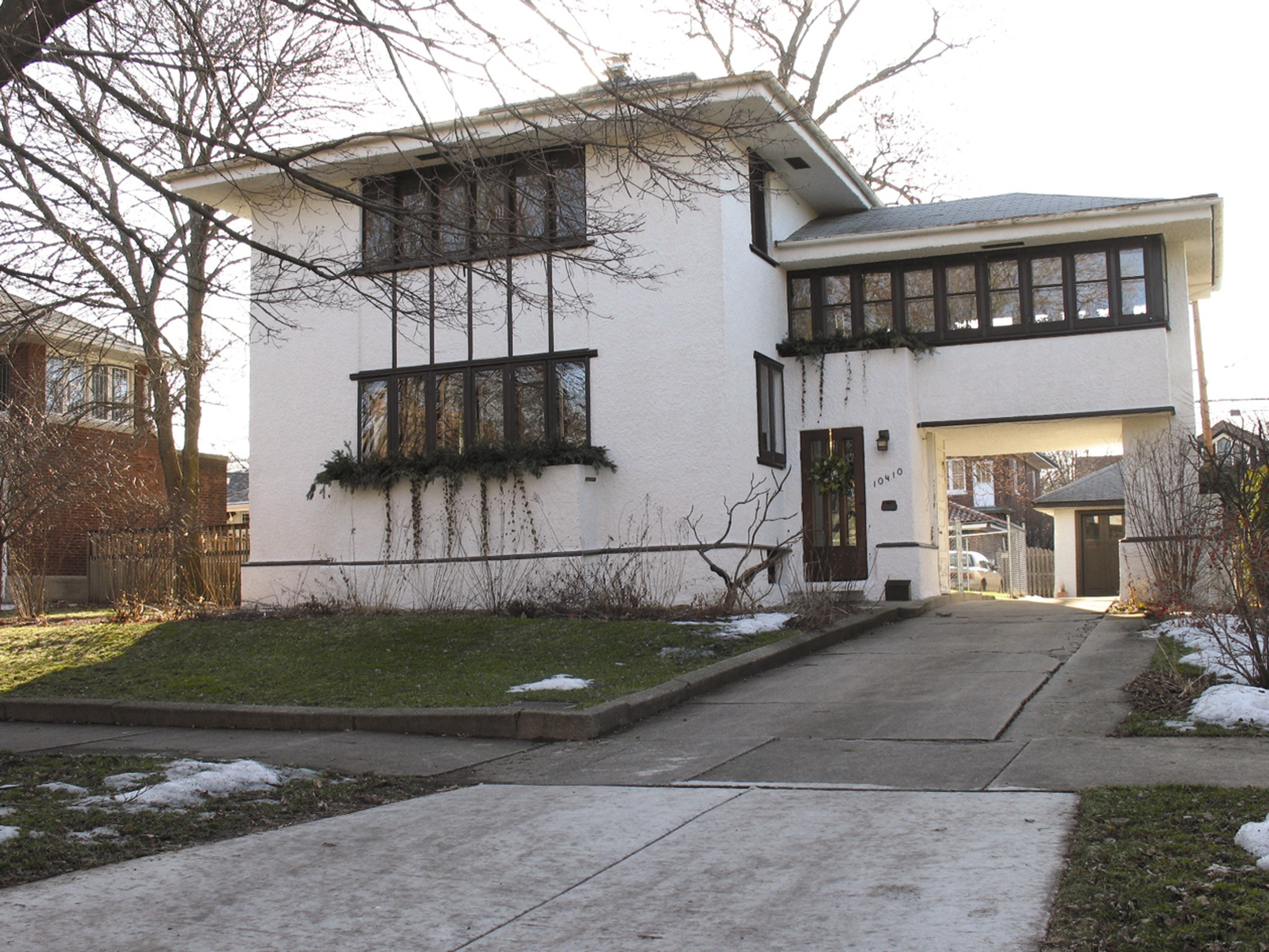 A Wright house in Beverly