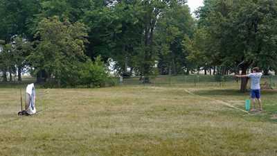 Lincoln Park Archery Bow Range. Chicago