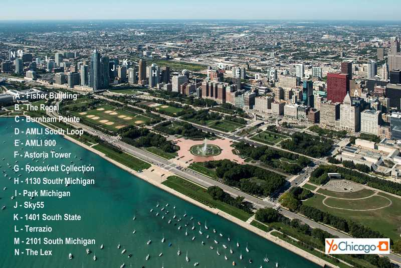 The South Loop's best apartments – Parks and beaches
