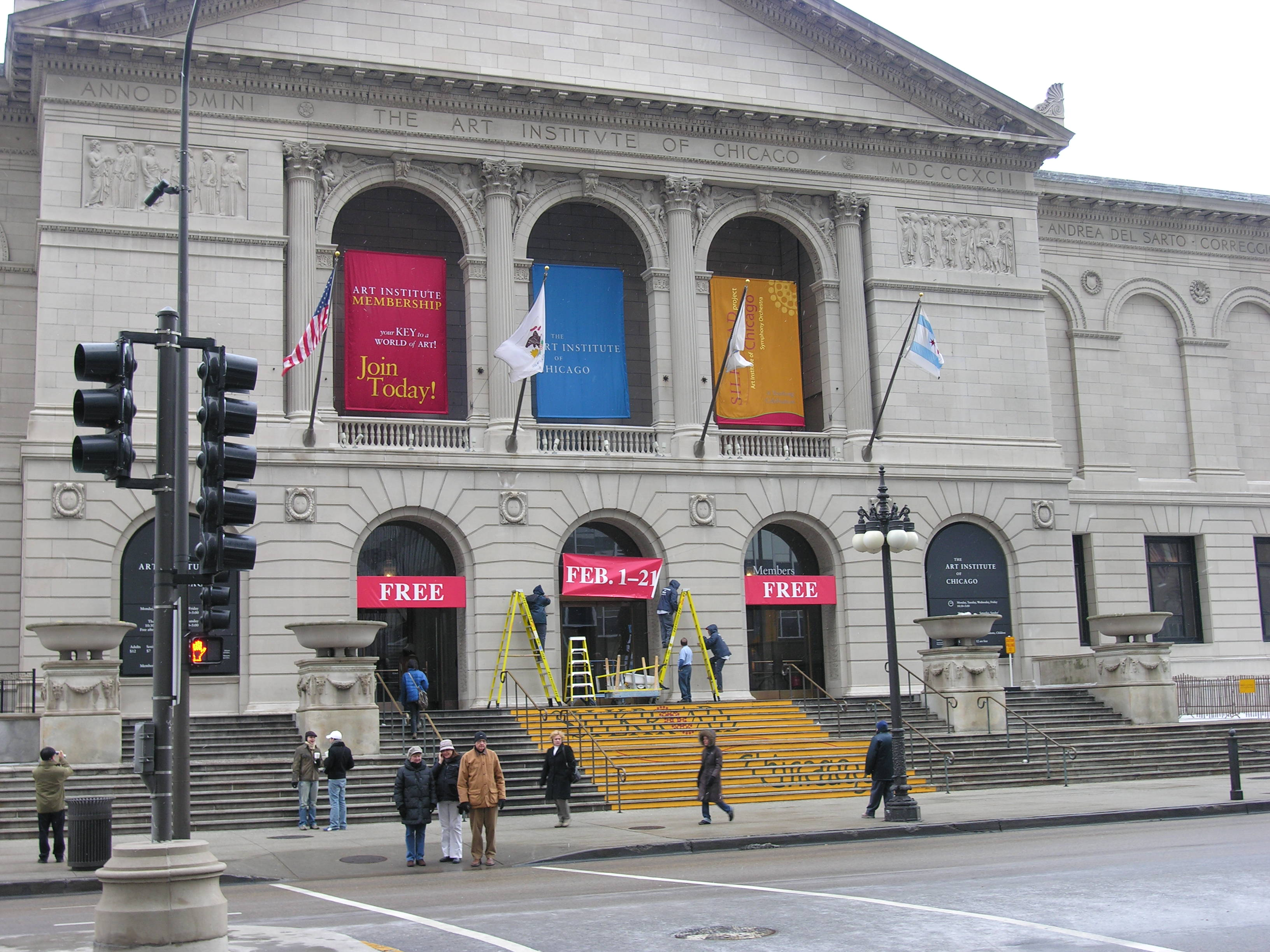 The Art Institute of Chicago (photo by Nathaniel Swift)