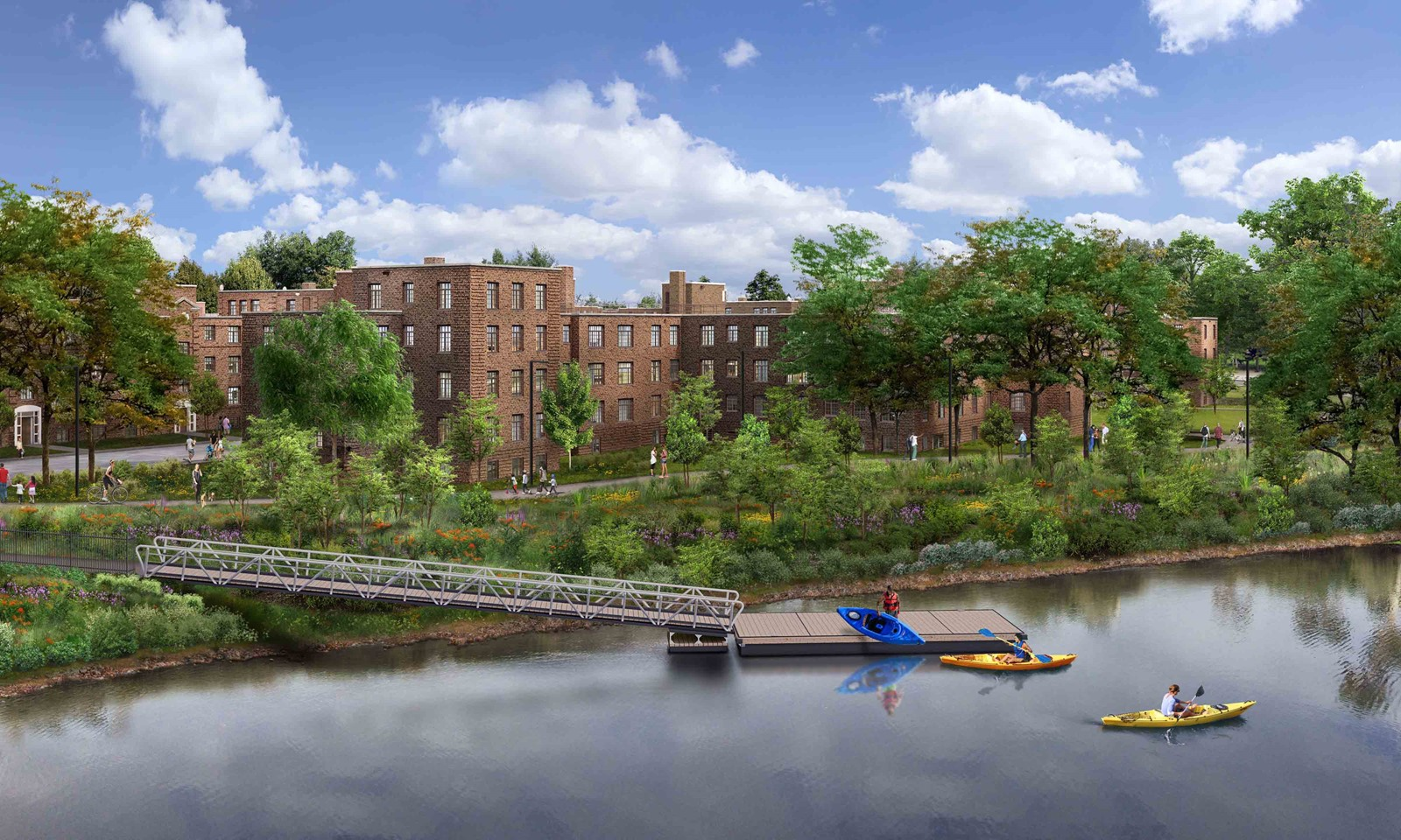 New 2-bedroom Riverfront Apartments On The Lincoln Park