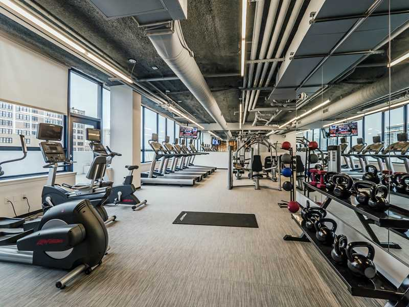 Fitness Center, Arkadia, Chicago
