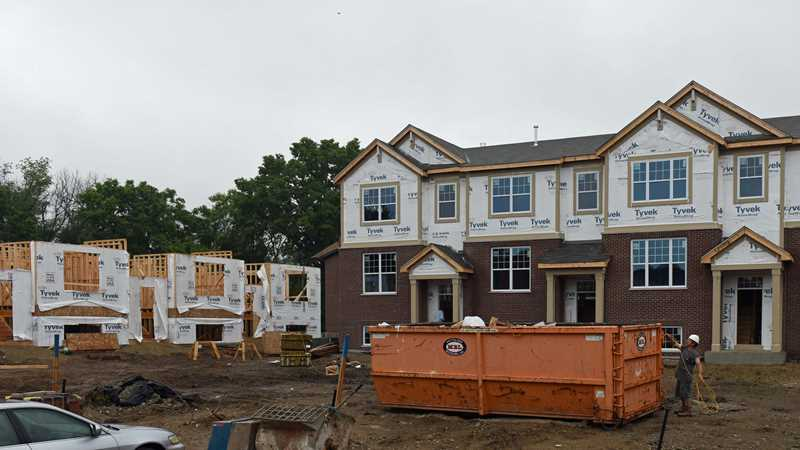 New Park Ridge Place townhomes nearly sold out