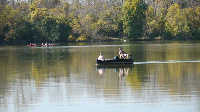 Skokie Lagoons boating, Winnetka, IL
