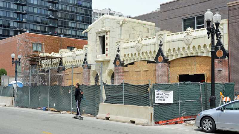 Terra cotta façade restoration nearly complete at 1225 Old Town