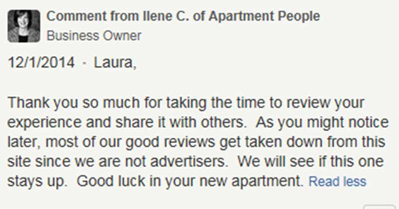 Apartment People CEO slams Yelp, slimes self