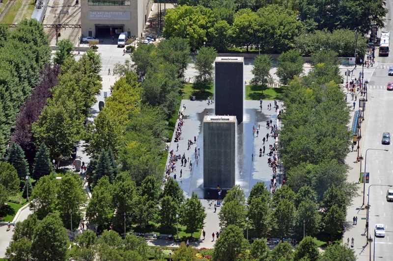 Celebrate Millennium Park's 10th anniversary at Park Michigan Apartments