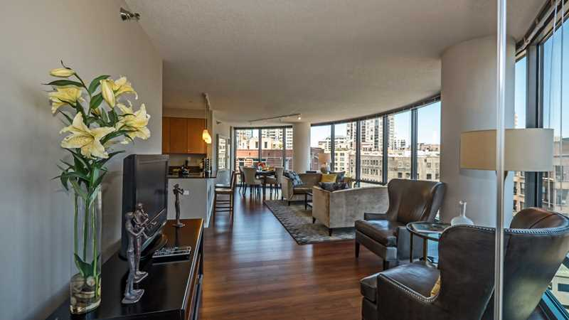 Kingsbury Plaza's curvaceous two-bedroom apartments