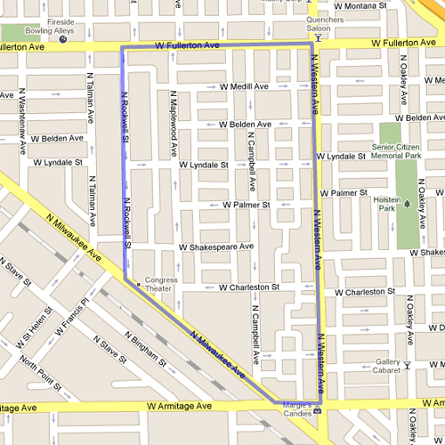 West Town Chicago Map.Comparing Census Tracts In Curbed Cup Competitors Yochicago