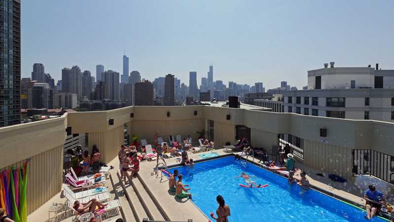 It's pool party season at Gold Coast apartments