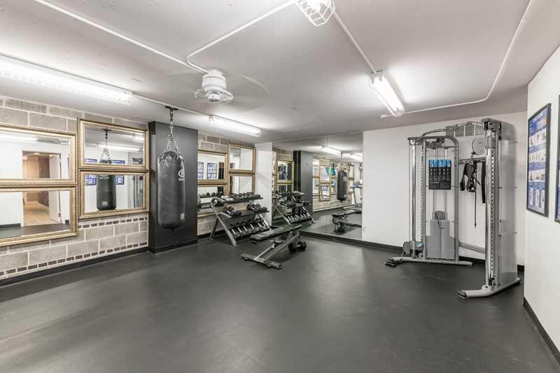 Fitness room, Gold Coast City Club, Chicago