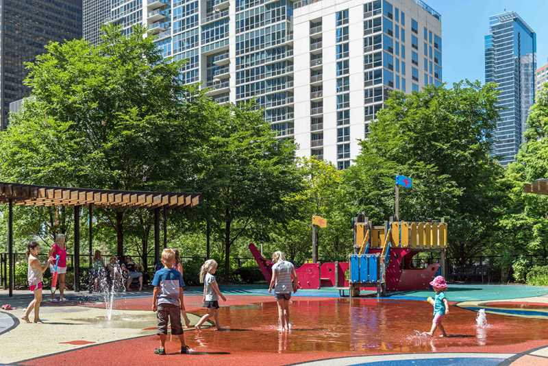 New East Side park playground