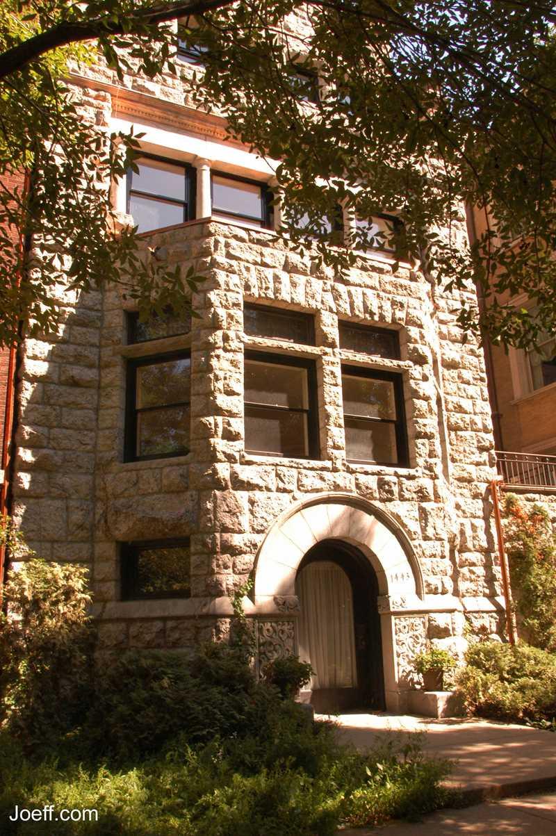 Astor Street Home, Chicago, IL. Joeff Davis photo