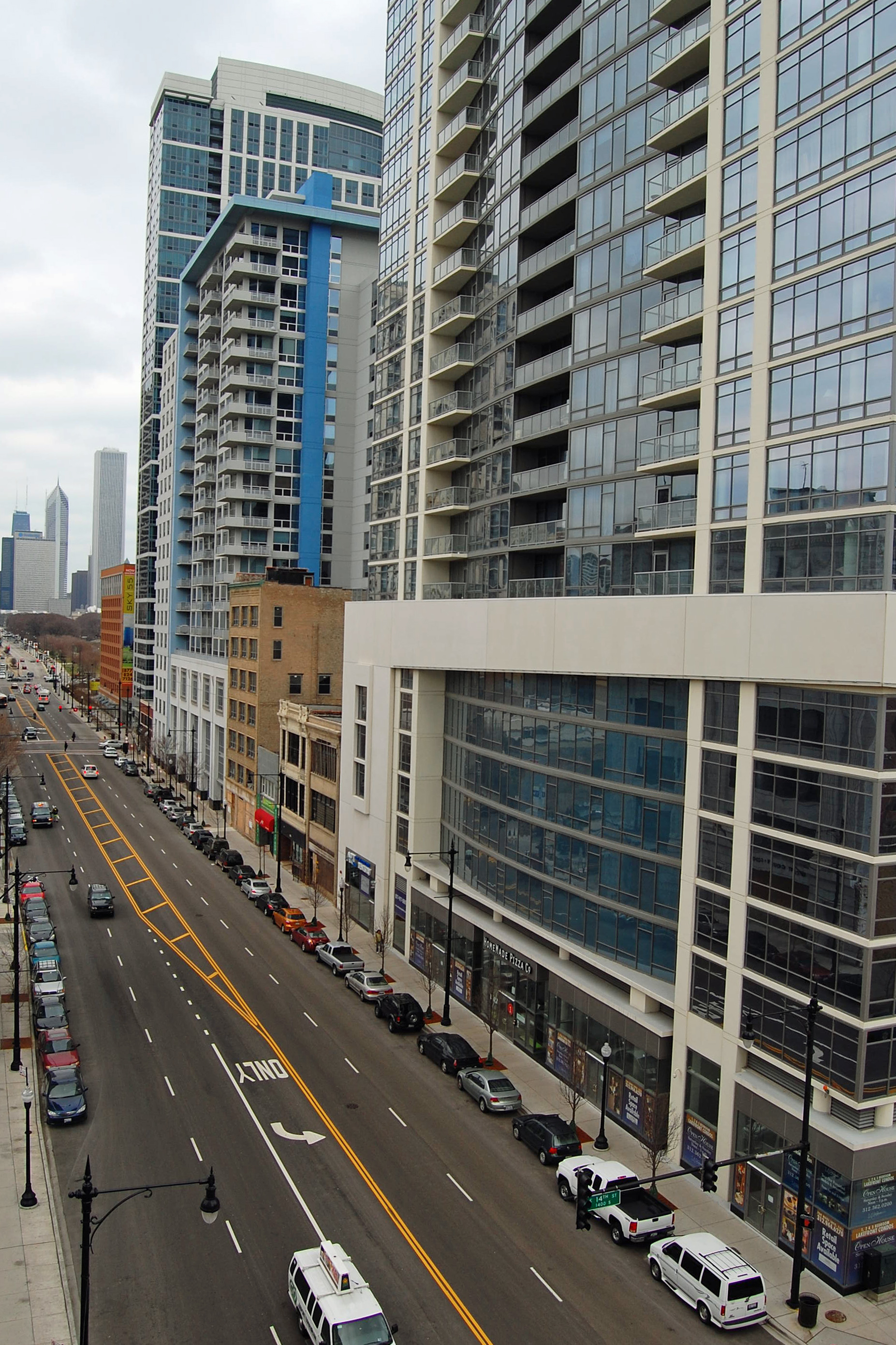 View from Michigan Avenue Tower II, 1400 S Michigan Ave, Chicago
